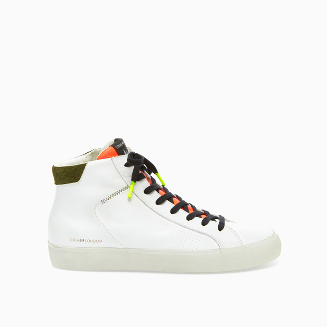 CRIME LONDON HIGH TOP DISTRESSED