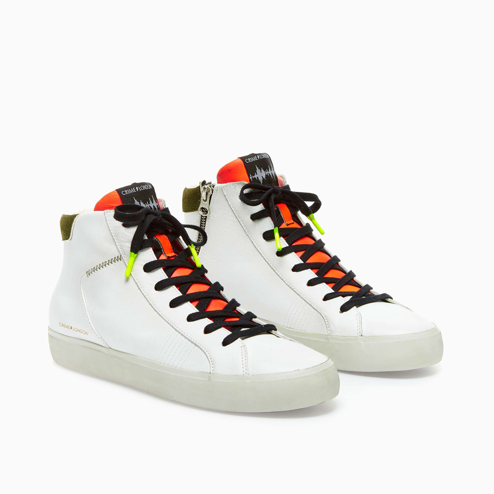 CRIME LONDON: HIGH TOP DISTRESSED