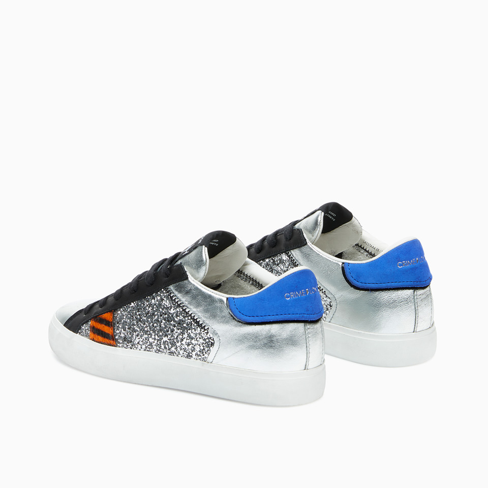 CRIME LONDON: LOW TOP DISTRESSED